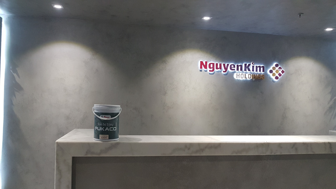 Dự án Sơn Bê Tông Nguyễn Kim