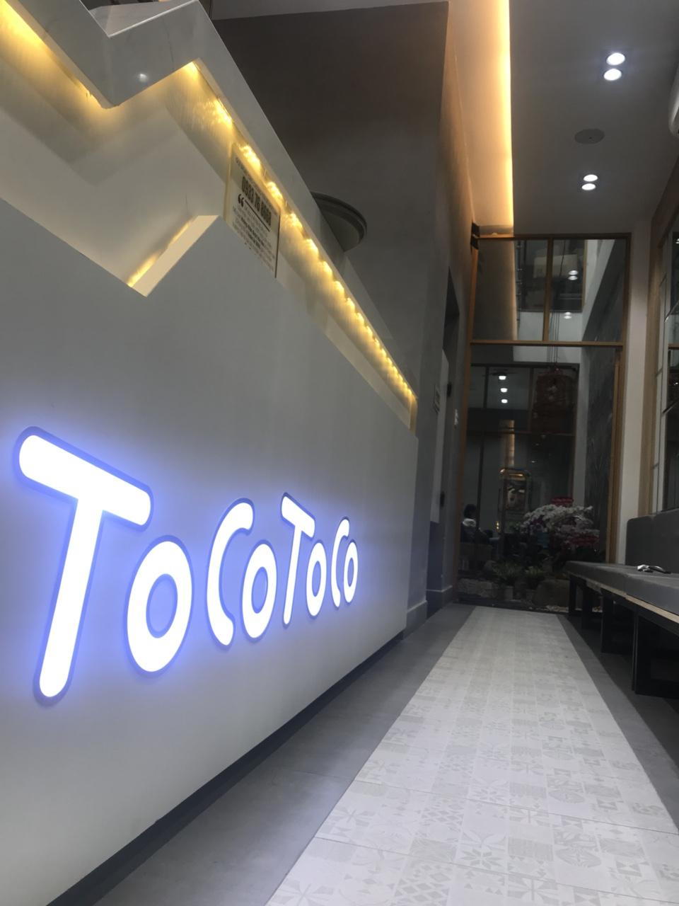 Dự án Sơn Bê Tông Trà sữa Tocotoco
